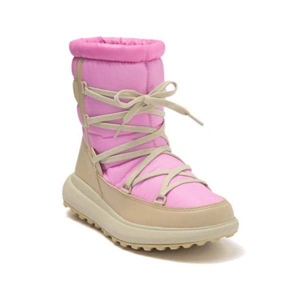 ヘリーハンセン レディース ブーツ&レインブーツ シューズ Isolabella Court Heritage Mid-Cut Faux Fur Lined Snow Boot AURORA PINK
