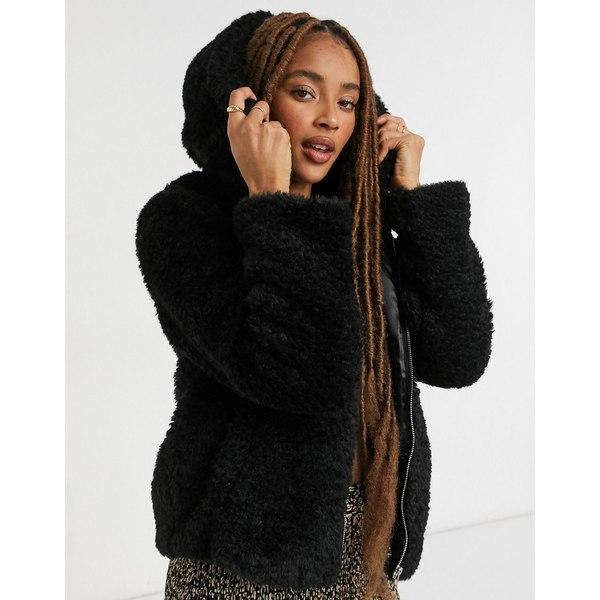 ミスセルフフリッジ 大規模セール レディース アウター コート Black 全商品無料サイズ交換 in Miss coat 正規取扱店 teddy black Selfridge