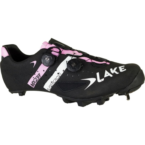 レイク メンズ サイクリング スポーツ MX237 SuperCross Cycling Shoe - Men's SuperCross Black/Pink