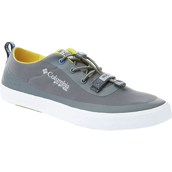 コロンビア メンズ ハイキング スポーツ Dorado CVO PFG Shoe - Men's Ti Grey Steel/Electron Yellow