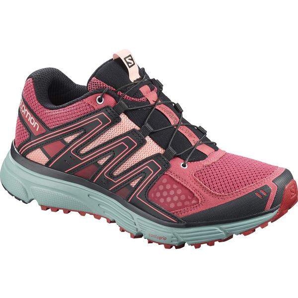 サロモン レディース ランニング スポーツ X-Mission 3 Trail Running Shoe - Women's Garnet Rose/Trellis/Coral Almond