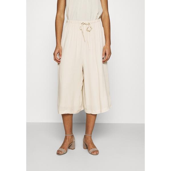セレクテッドフェム レディース カジュアルパンツ ボトムス SLFTESSI RELAXED PANT - Trousers - sandshell