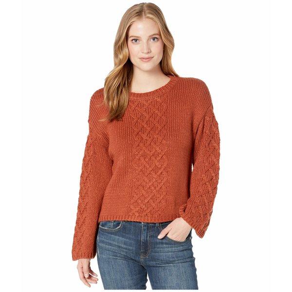 ビービーダコタ レディース ニット&セーター アウター Retro Active Sweater Rust