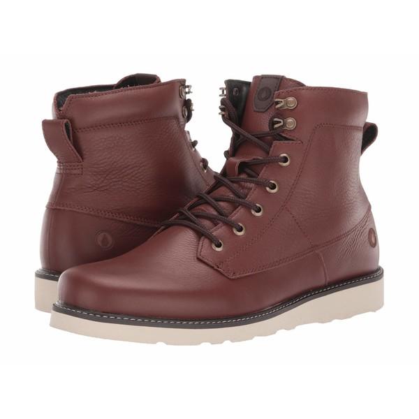 ボルコム メンズ ブーツ&レインブーツ シューズ Smithington II Boot Brown