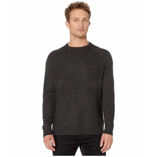 スマートウール メンズ ニット&セーター アウター Ripple Ridge Crew Sweater Charcoal Heather