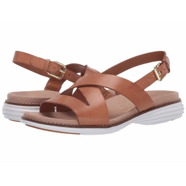 コールハーン レディース サンダル シューズ Original Grand Sandal Pecan Leather/Optic White