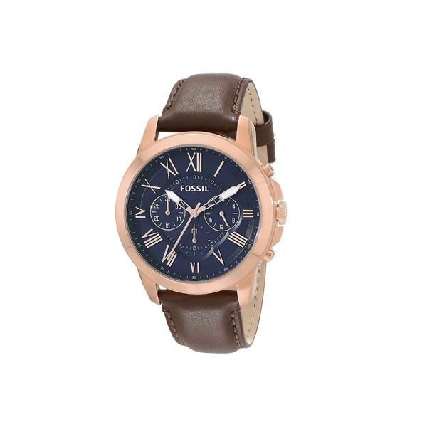 フォッシル メンズ 腕時計 アクセサリー Grant - FS5068 Brown