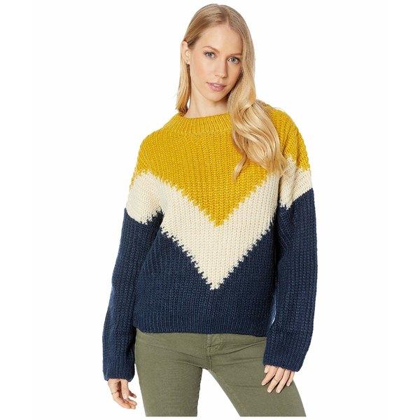 ビジョッププラスヤング レディース ニット&セーター アウター Anthem Sweater Navy