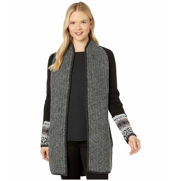 スマートウール レディース ニット&セーター アウター CHUP Speren Wrap Sweater Black