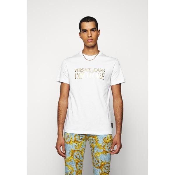 ベルサーチ メンズ 休日 トップス Tシャツ white 全商品無料サイズ交換 muhy00c2 Print - 全商品オープニング価格 MOUSE T-shirt
