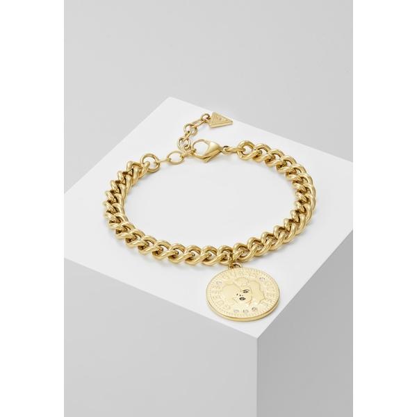 ゲス レディース アクセサリー 誕生日 お祝い ブレスレット バングル アンクレット COIN 全商品無料サイズ交換 お買い得 muhy00c6 Bracelet - gold-coloured