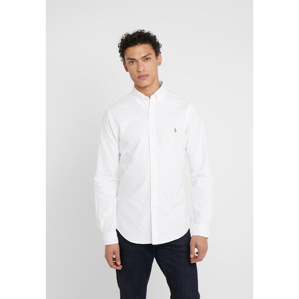 ラルフローレン メンズ 『1年保証』 トップス シャツ white 全商品無料サイズ交換 OXFORD SLIM ブランド買うならブランドオフ - muhy00c6 FIT Shirt