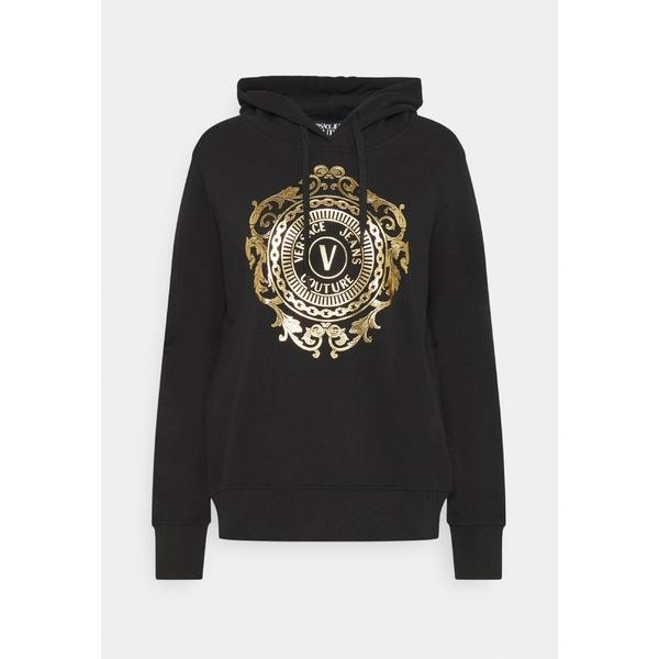 出産祝い ベルサーチ レディース レディース パーカー Sweatshirt・スウェットシャツ アウター - Sweatshirt - black-gold muhy00cd, wise:807ee769 --- zhungdratshang.org