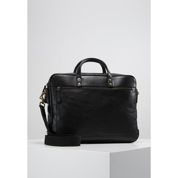 フォッシル メンズ バッグ ビジネス系 black muhy00ce 海外輸入 SALE DEFENDER - 全商品無料サイズ交換 Briefcase