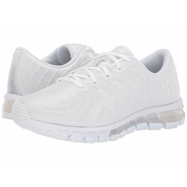 アシックス レディース スニーカー シューズ GEL-Quantum 180 4 White/White