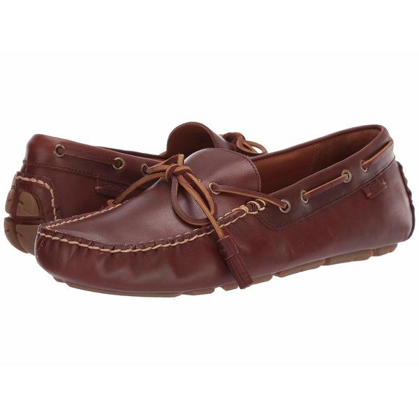 ラルフローレン メンズ スリッポン・ローファー シューズ Anders Loafer New Tan Smooth Leather