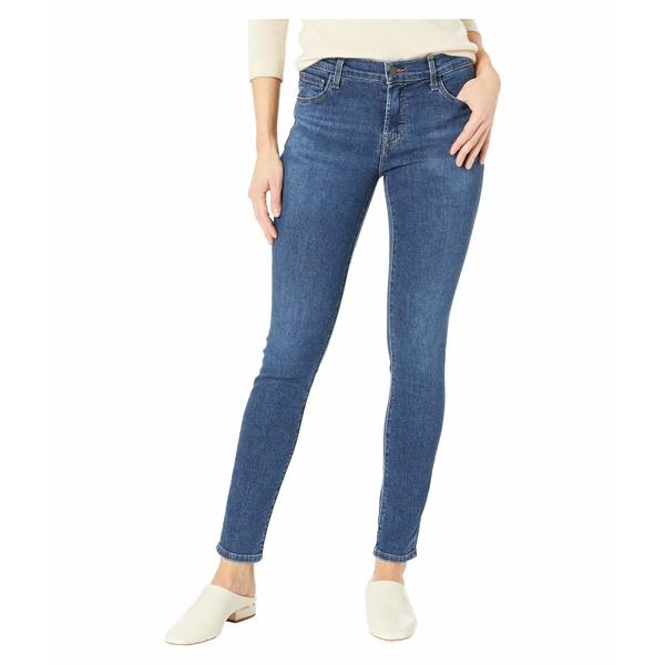 ジェイブランド レディース デニムパンツ ボトムス 811 Mid-Rise Skinny Jeans in Moral Moral