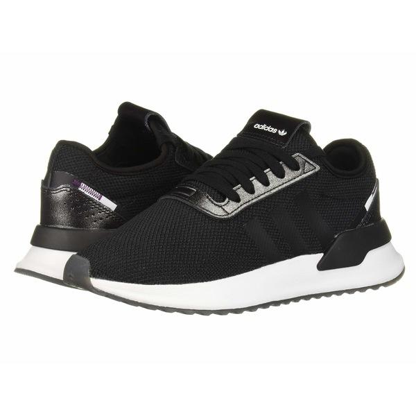 アディダスオリジナルス レディース スニーカー シューズ U_Path X Core Black/Purple Beauty/Footwear White