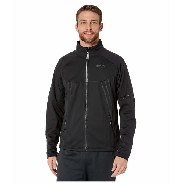 クラフト メンズ コート アウター Warm Train Jacket Black/Transparent Grey