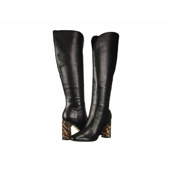シガーソン モリソン レディース ブーツ&レインブーツ シューズ Barretta Black Lux Nappa Leather