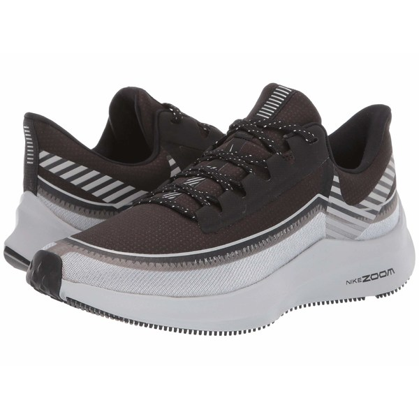 ナイキ レディース スニーカー シューズ Zoom Winflo 6 Shield Black/Reflect Silver/Wolf Grey