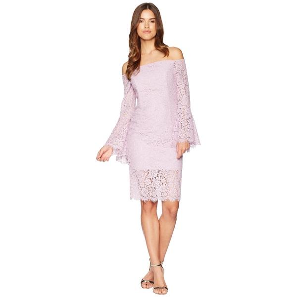 バードット レディース ワンピース トップス Solange Lace Dress Lilac Mist