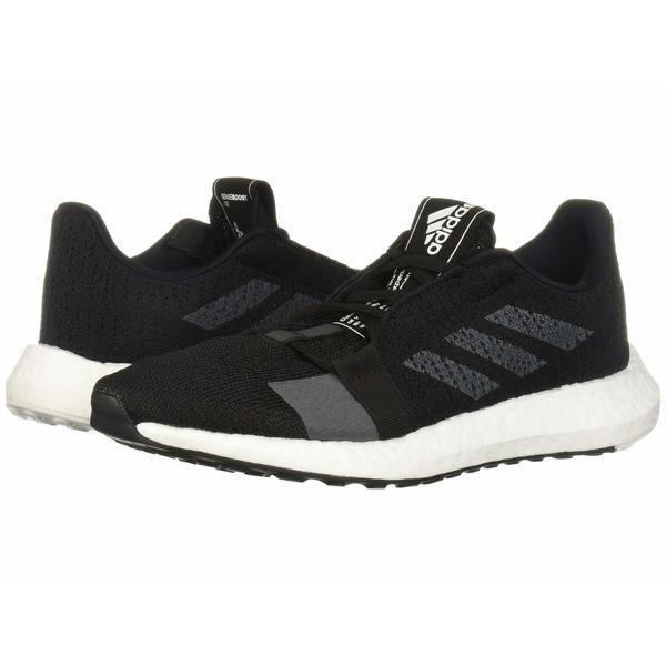 アディダス レディース スニーカー シューズ SenseBOOST GO Core Black/Grey Five/Footwear White