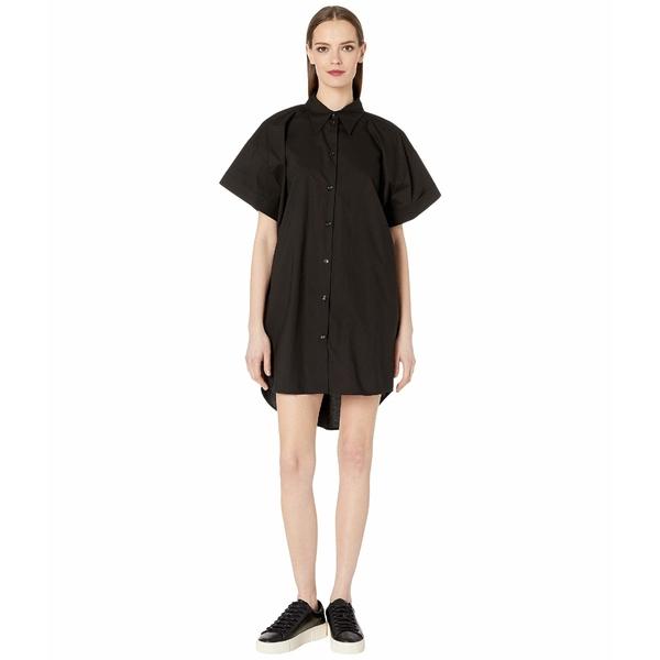 マルタンマルジェラ レディース ワンピース トップス Short Sleeve Shirt Dress Black