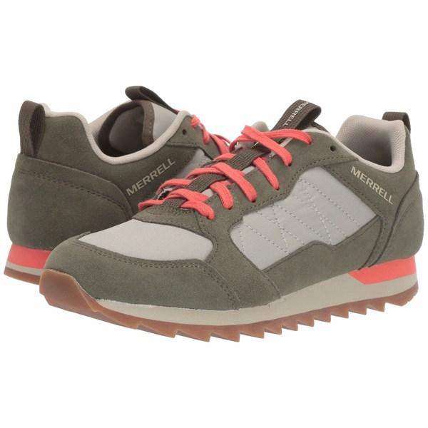 メレル レディース スニーカー シューズ Alpine Sneaker Sage/Olive