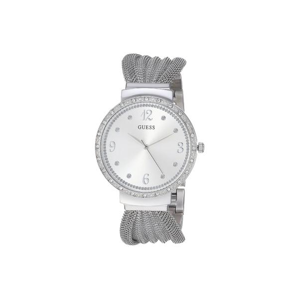 ゲス レディース 腕時計 アクセサリー U1083L1 Silver