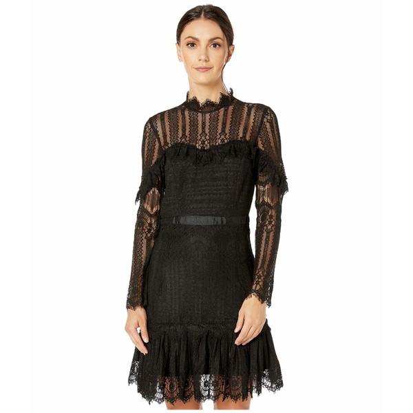 バードット レディース ワンピース トップス Tessie Lace Dress Black