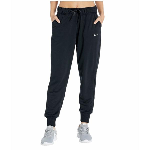 ナイキ レディース カジュアルパンツ ボトムス Dry All-In Tapered Fleece Pants Black/White