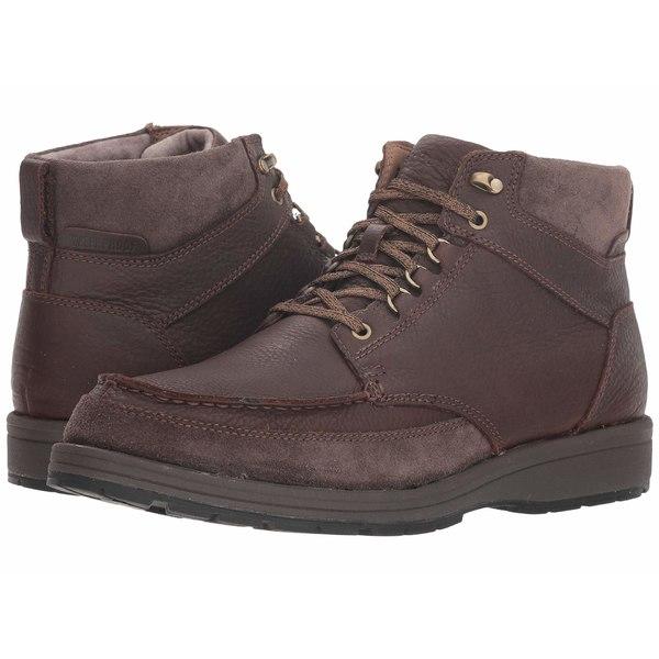 ハッシュパピー メンズ ブーツ&レインブーツ シューズ Beauceron Tall ICE+ Dark Brown WP Leather