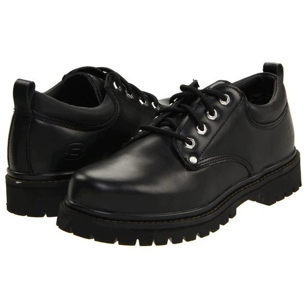 スケッチャーズ Black メンズ ドレスシューズ ドレスシューズ シューズ Alley Cats Black Oily Oily Leather, トレジャーハンター:b7deefc1 --- wap.assoalhopelvico.com