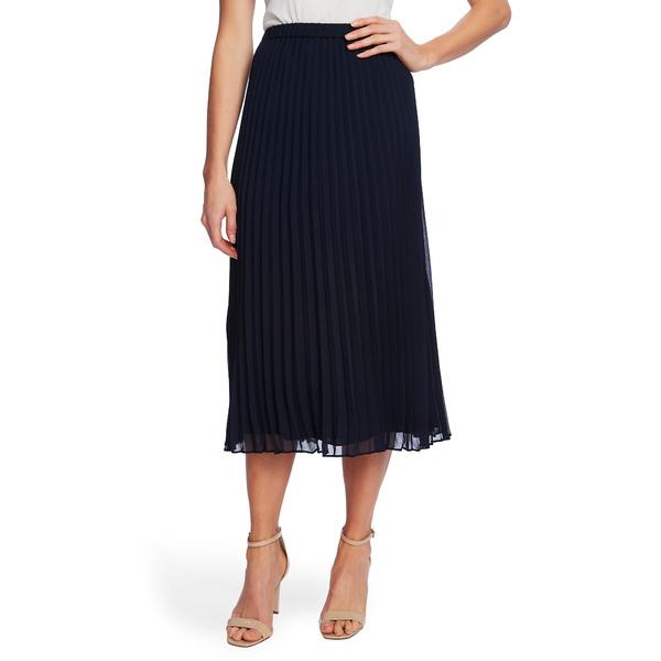 セセ レディース スカート ボトムス Pleated Pull-On Skirt Caviar