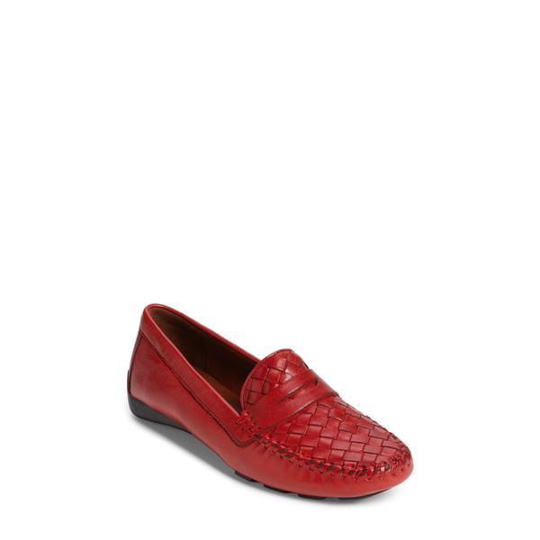 ロバート ツア レディース スニーカー シューズ 'Petra' Driving Shoe French Red