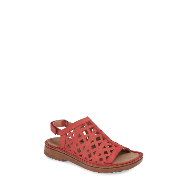ナオト レディース サンダル シューズ Amadora Slingback Sandal Brick Red