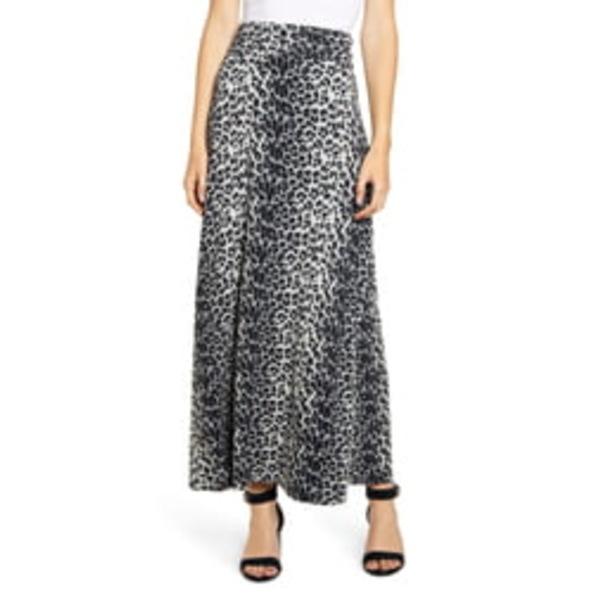 ロベアペラ レディース スカート ボトムス Roll Top Maxi Skirt Gray/ Black
