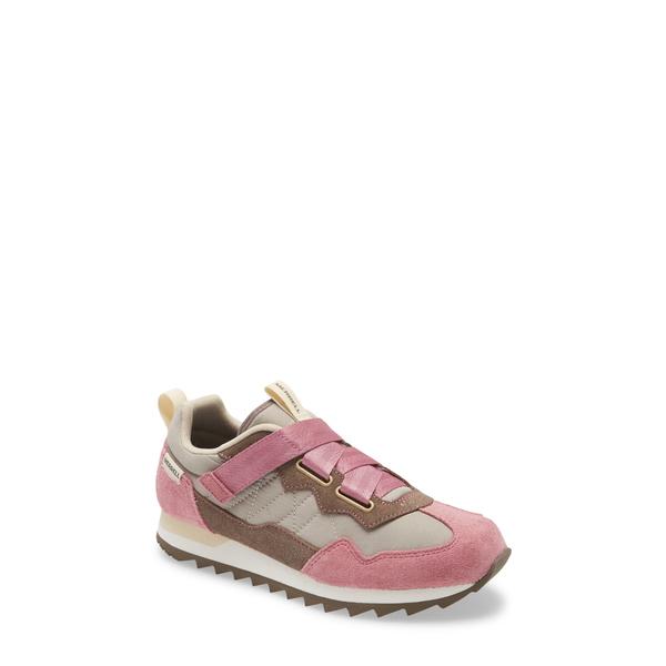 メレル レディース スニーカー シューズ Alpine Cross Sneaker Erica/ reddish‐brown Fabric
