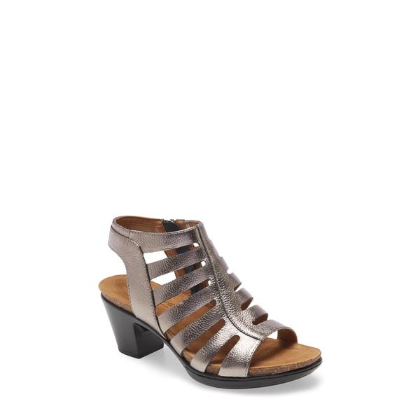 コンフォーティバ レディース サンダル シューズ Viona Strappy Sandal Anthracite Leather