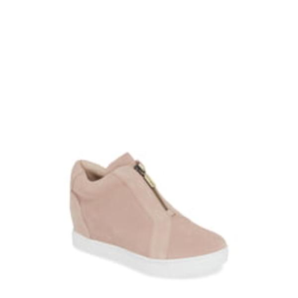 ブロンド レディース スニーカー シューズ Glenda Waterproof Sneaker Bootie Light Pink Suede