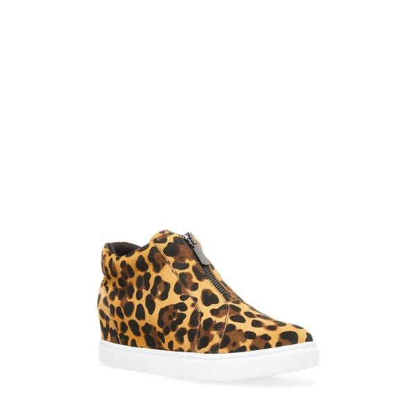 ブロンド レディース スニーカー シューズ Glenda Waterproof Sneaker Bootie Leopard Print Suede
