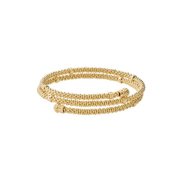 ラゴス レディース ブレスレット バングル アンクレット アクセサリー Caviar 18K Gold Coil Bracelet Gold 景品 SBおゆうぎ会 年越し クからトレドまで幅広いアイテムを提案!
