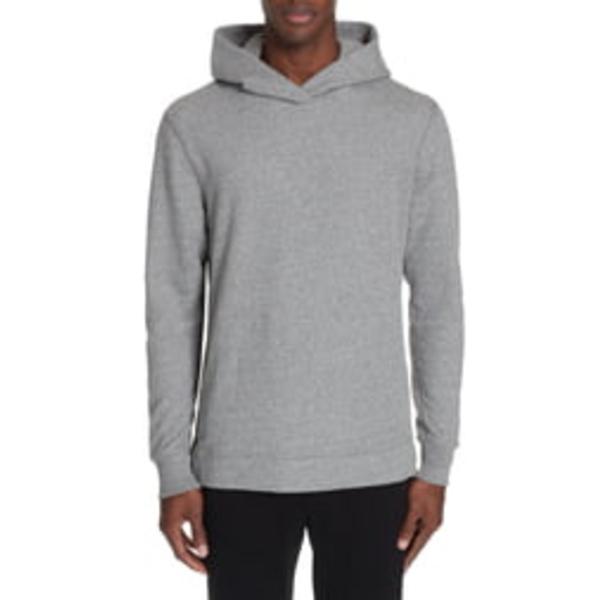 ジョン・エリオット メンズ シャツ トップス Hooded Villain Slim Fit Hooded Sweatshirt Dark Grey