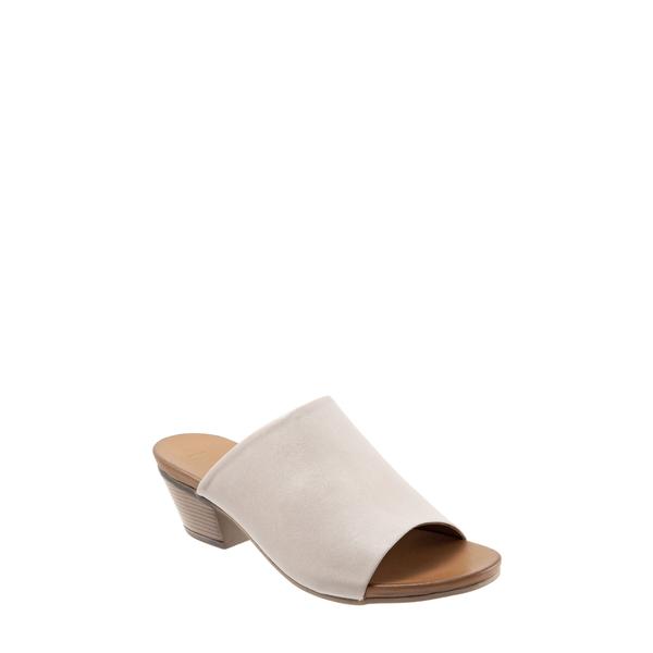 ブエノ レディース サンダル シューズ Simone Slide Sandal Light Grey Leather