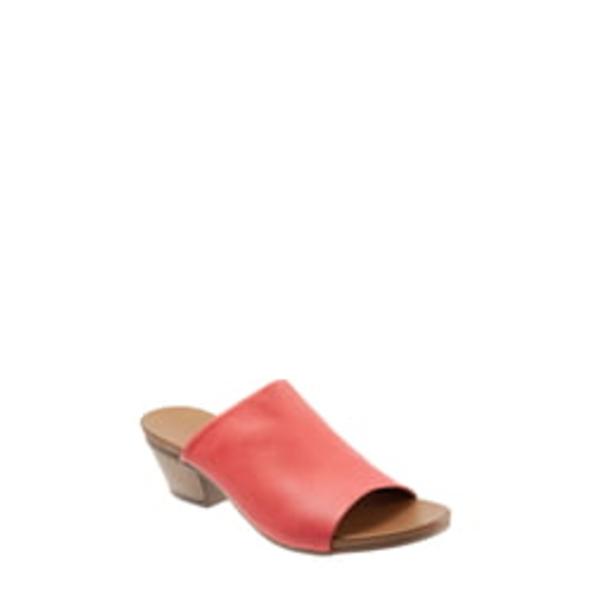 ブエノ レディース サンダル シューズ Simone Slide Sandal Red Leather