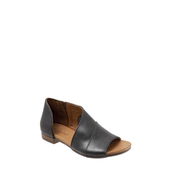 ブエノ レディース サンダル シューズ Tanner Sandal Black Leather