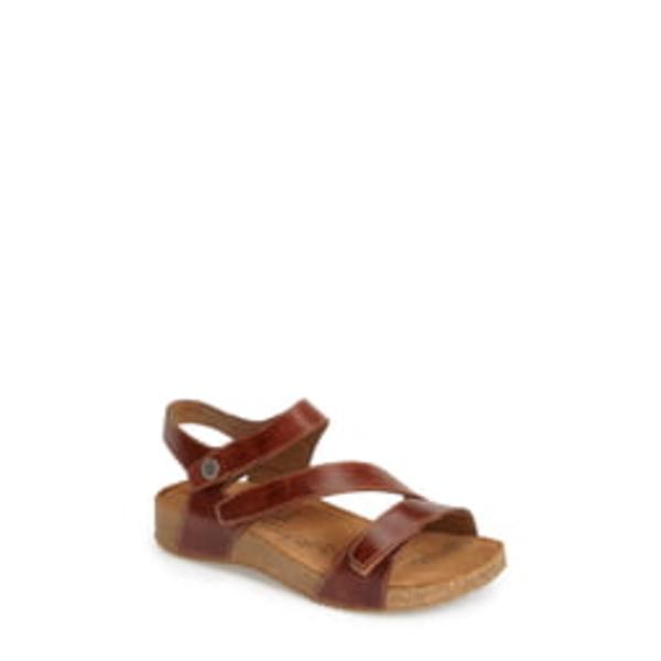 ジョセフセイベル レディース サンダル シューズ 'Tonga' Leather Sandal Camel
