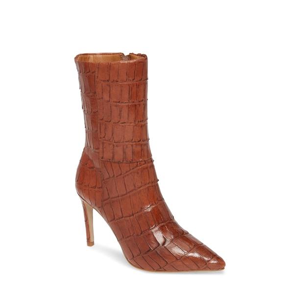 マチス レディース ブーツ&レインブーツ シューズ Dream Catcher Bootie Cognac Leather