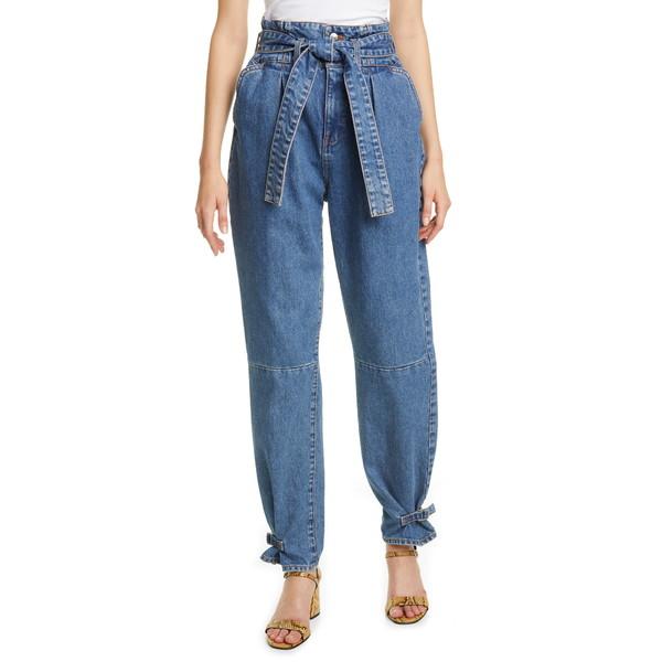 ヴェロニカ ベアード レディース デニムパンツ ボトムス Addie Paperbag Waist Tapered Jeans Beacon